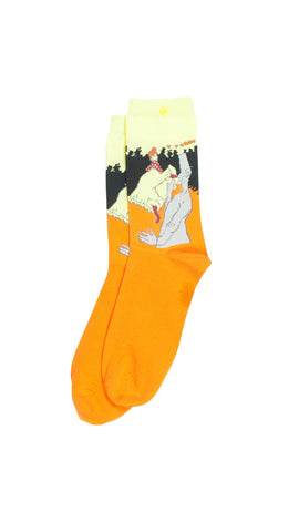 """The Kiss"" Art Socks"