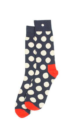 Snappy Sport Socks - Black & Blue