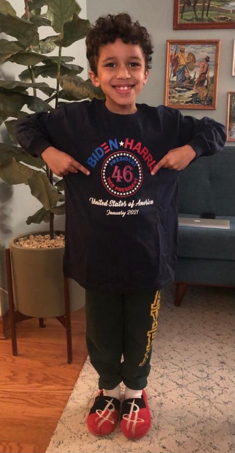 Biden-Harris President and Vice President Youth Shirt