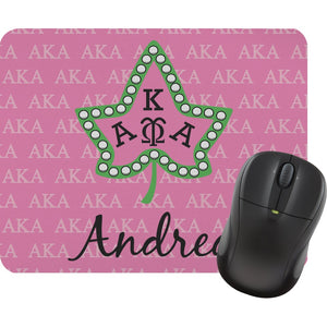 Personalized AKA & Ivy Leaf Mouse Pads
