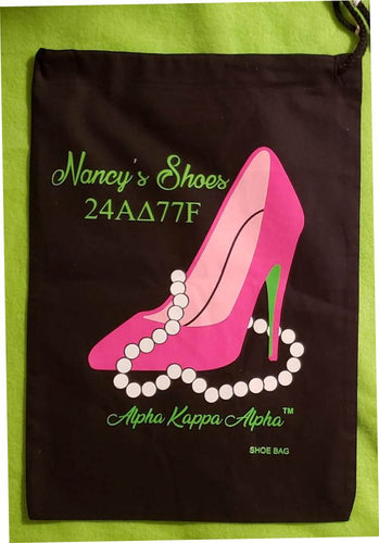 Pink Fantasy AKA Shoe Bag with Monogram
