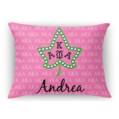 AKA Throw Pillow - Personalized