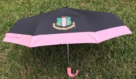 The Pink Print Umbrella