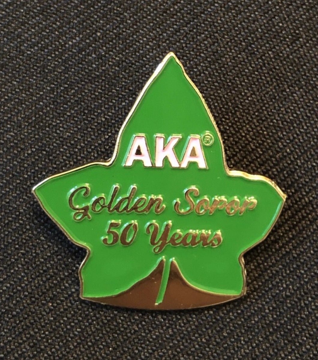 AKA Golden Soror Pin