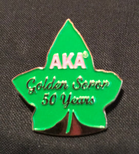 Golden Soror Pin