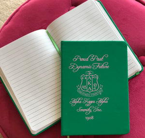 AKA Proud Past, Dynamic Future Notebook
