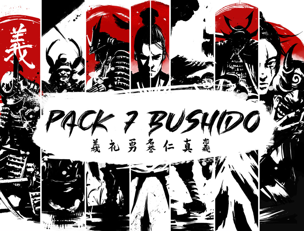 PACK THE 7 VIRTUES OF BUSHIDO