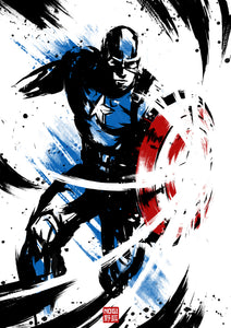 INKED CAPTAIN AMERICA