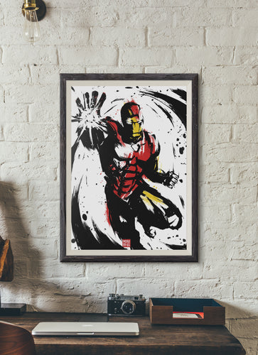 INKED IRON MAN