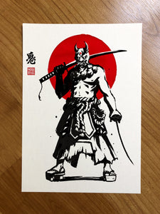 Oni Limited Edition Print