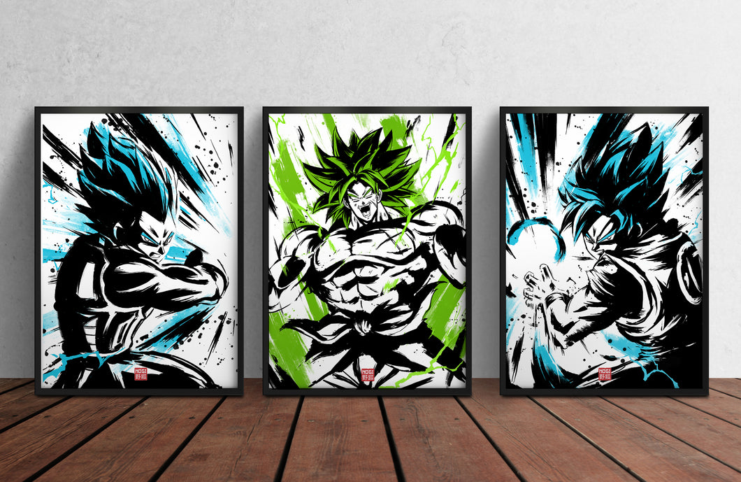 DRAGON BALL Z TRIO