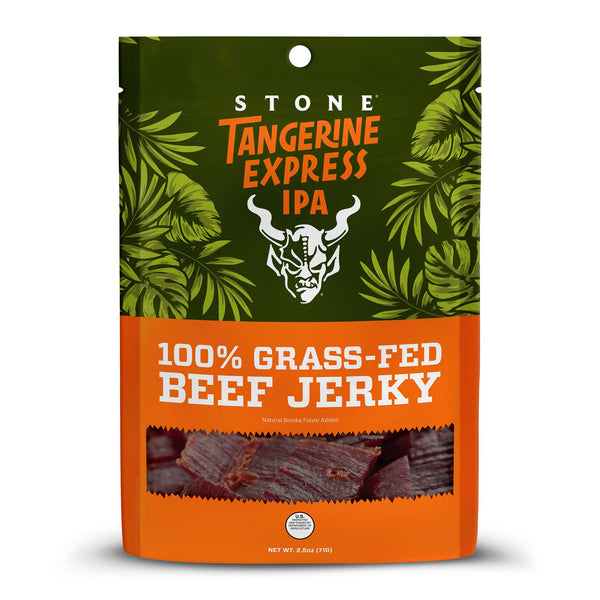 Stone Tangerine Express IPA - 100% Grass-Fed Beef Jerky
