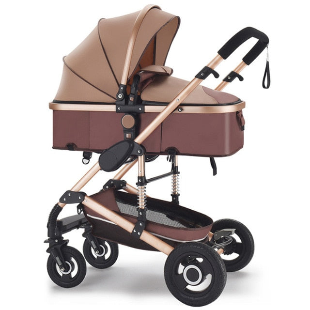 Baby Stroller 3 in 1 newborn stroller baby car pushchair High Landscape baby pram strollers for 0-36 months baby trolley