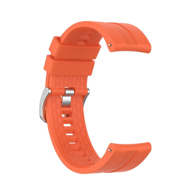 sport Silicone 22mm watch band strap For Huawei watch GT 2 46mm smartwatch Replacement wristband For Huawei watch GT 42mm 46mm