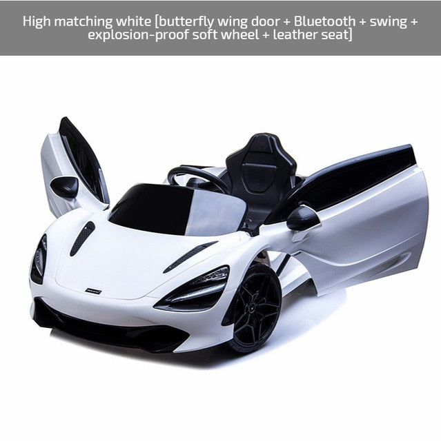 Oversized McLaren Children's Electric Car Four-Wheel Baby Baby Remote-Control Automobile Men and Women Children's Toy Car