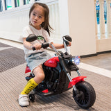 Children's electric motorcycle Two-wheeler prince car Children men and women baby scooter Can ride on toy motorcycle electric