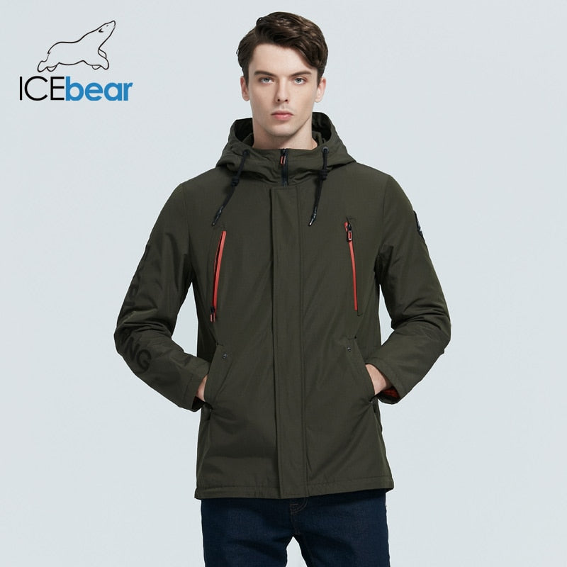 ICEbear 2020 New Men's Jacket Quality Men's Jacket Male Hooded Coat Casual Men Clothing MWC20823I