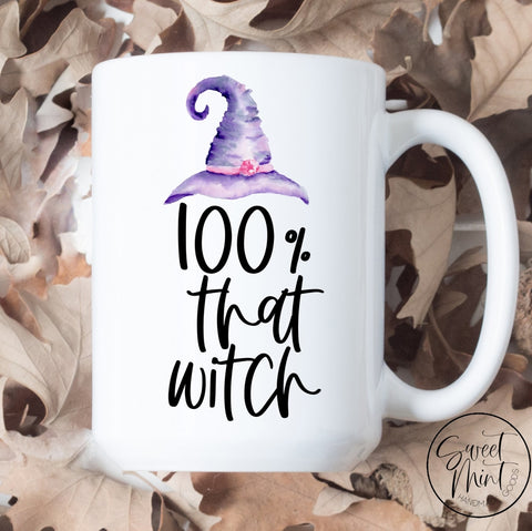100% That Witch Mug - Halloween