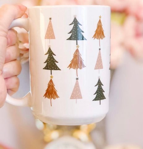 Mini Tree Wrap-around Mug