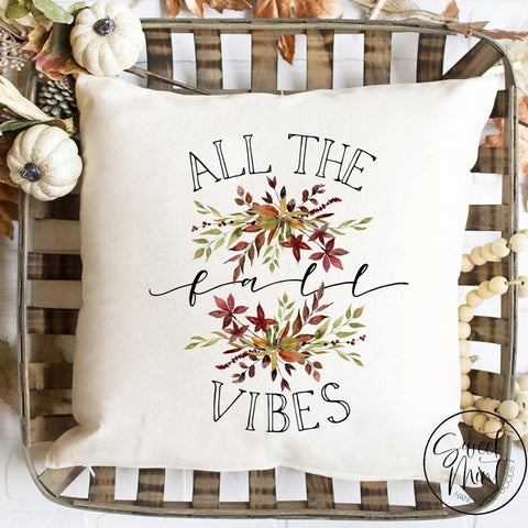 All The Fall Vibes Pillow Cover - / Autumn 16X16