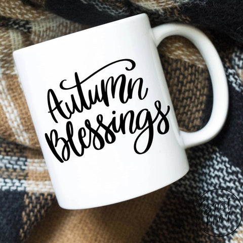 Autumn Blessings Mug - Fall