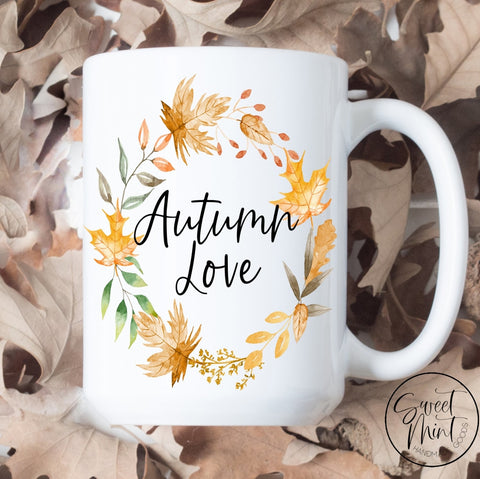 Autumn Love Wreath Mug