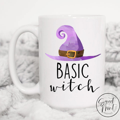 Basic Witch Mug - Funny Halloween / Fall Autumn