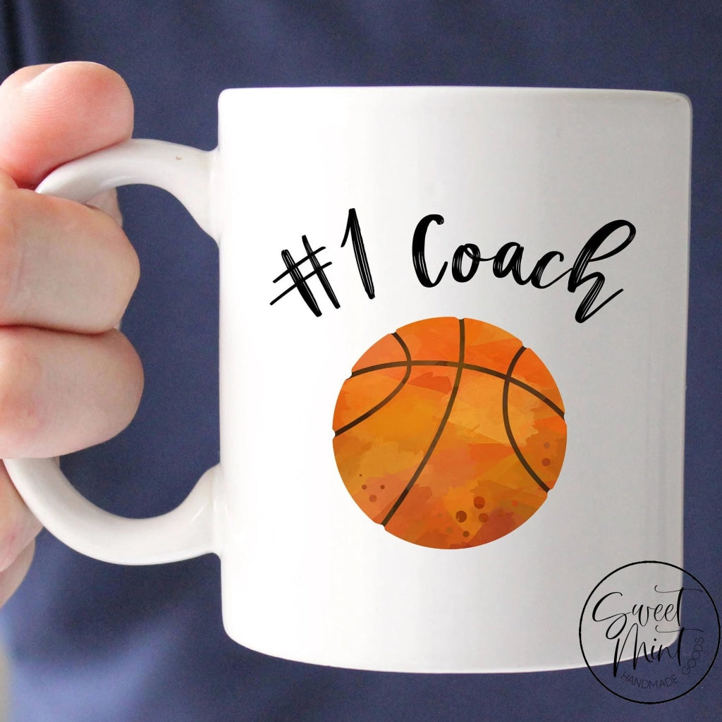Basketball Coach Mug- Number 1 Mug