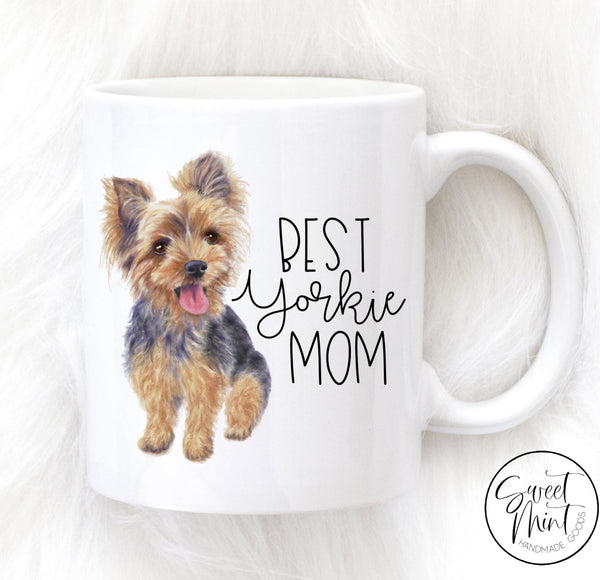 Best Yorkie Mom Mug