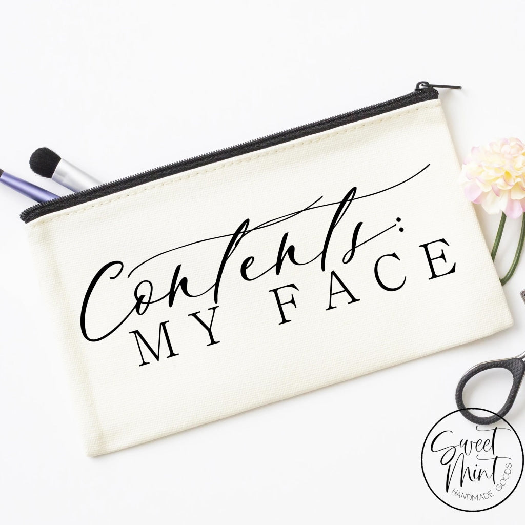 Contents My Face Cosmetic Bag - Makeup