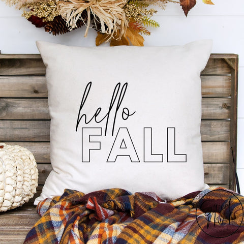 Copy Of All The Fall Vibes Pillow Cover - / Autumn 16X16