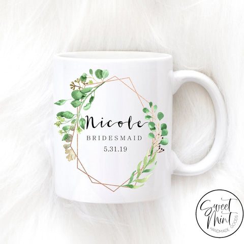 Custom Bridesmaid Mug