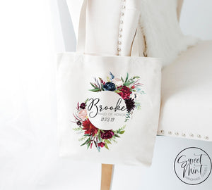 Custom Maid Of Honor Bag Tote