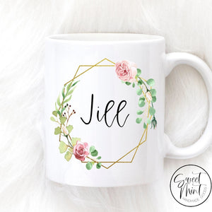 Custom Name Mug - Bridesmaid Gift