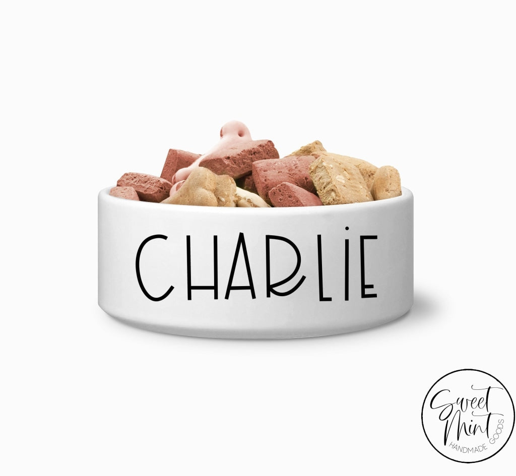 Custom Pet Bowl Personalized Dog / Cat