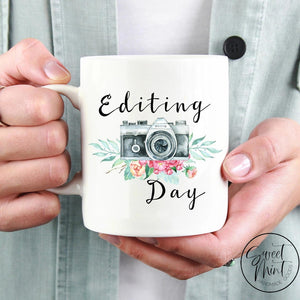 Editing Day Mug - Photographer
