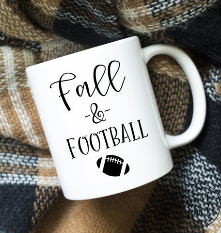 Fall And Football Mug - Autumn
