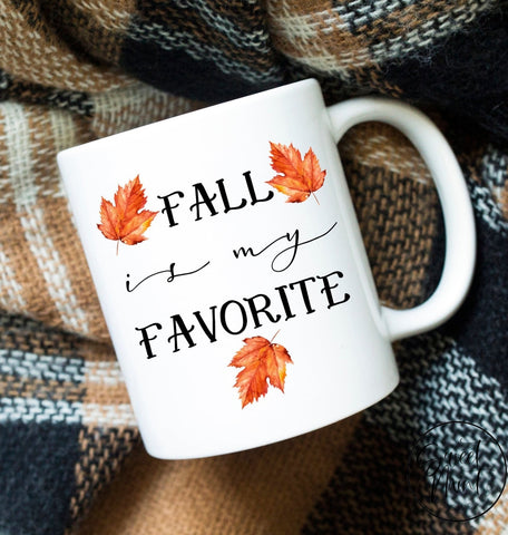 Fall Is My Favorite Mug - Autumn