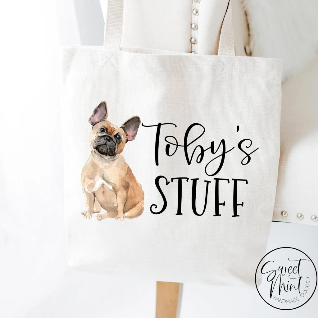French Bulldog Tote Bag - Frenchie