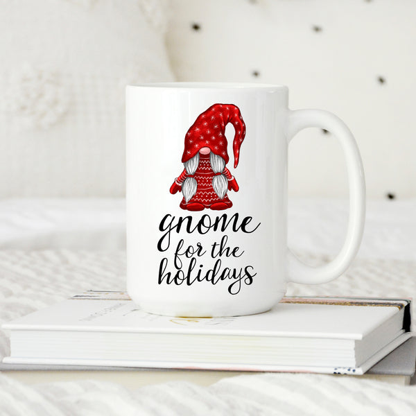 Gnome for the Holidays Christmas Mug