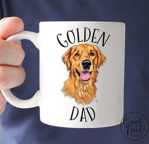 Golden Dad Mug - Retriever