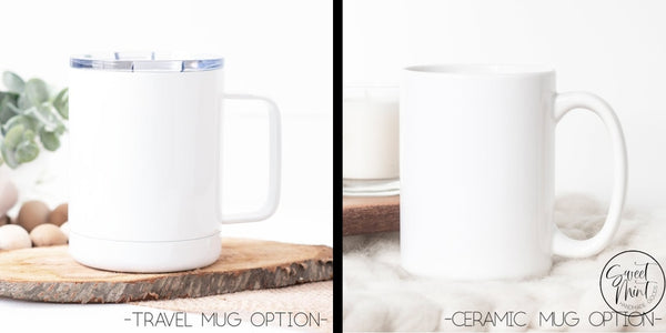 Grandma Again & Grandpa Mug Set - Pregnancy Announcement