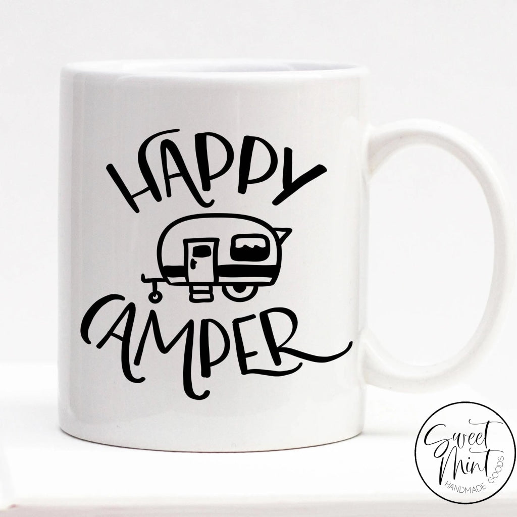 Happy Camper Mug - Camping