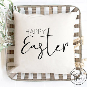 Happy Easter Pillow Cover - Spring 16X16