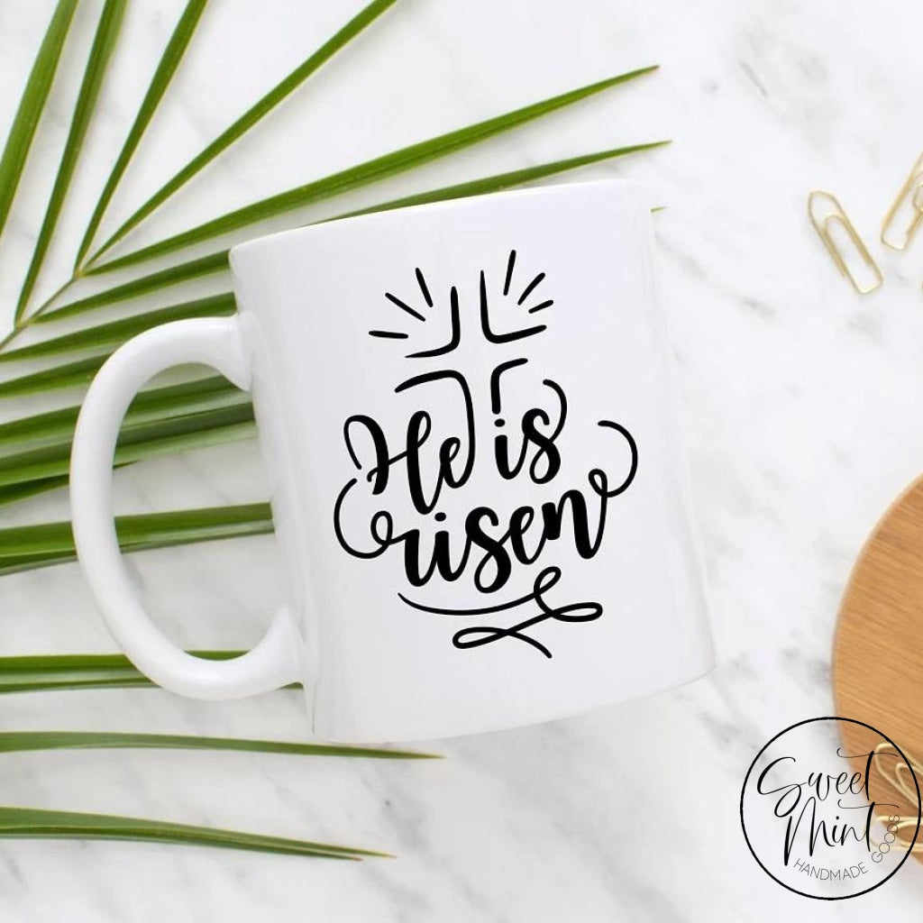 He Is Risen Mug - Easter