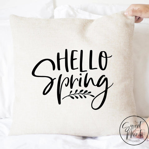 Hello Spring Pillow Cover - 16X16