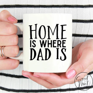 Home Is Where Dad Mug