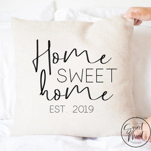 Home Sweet Pillow Cover - 16X16