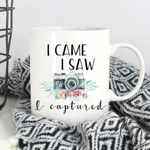 I Came Saw Captured Mug - Photographer / Camera