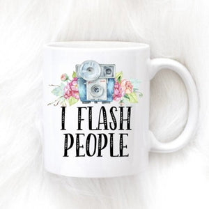 I Flash People Gift For Photographer